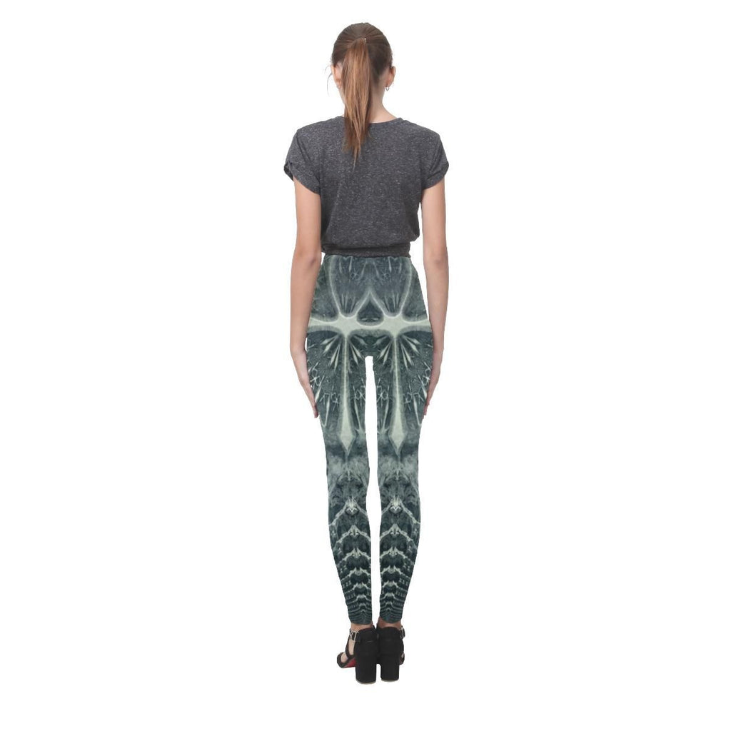Hidden Guardian Women's High-Waist Leggings - dianadu-designs