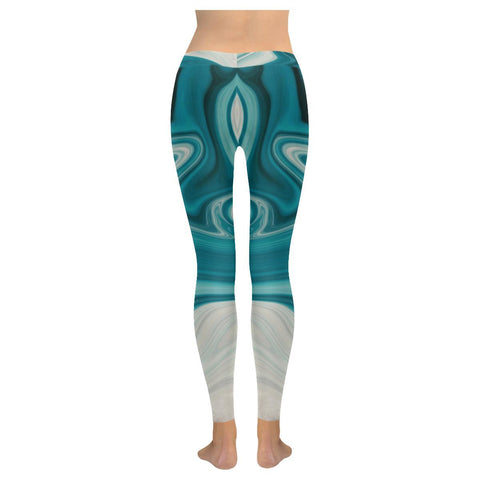 Lava Flow Women's Low Rise Leggings - dianadu-designs