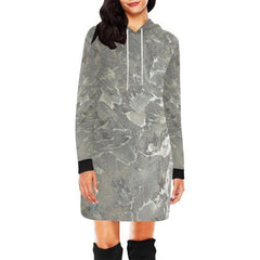 Marbled Muse Women's Hoodie Mini Dress