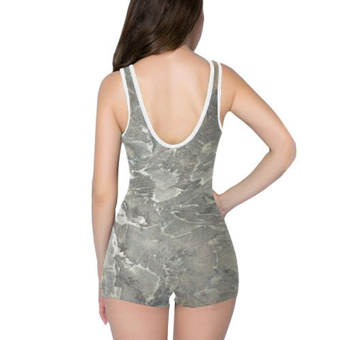 Marbled Muse Women's One Piece Romper - dianadu-designs
