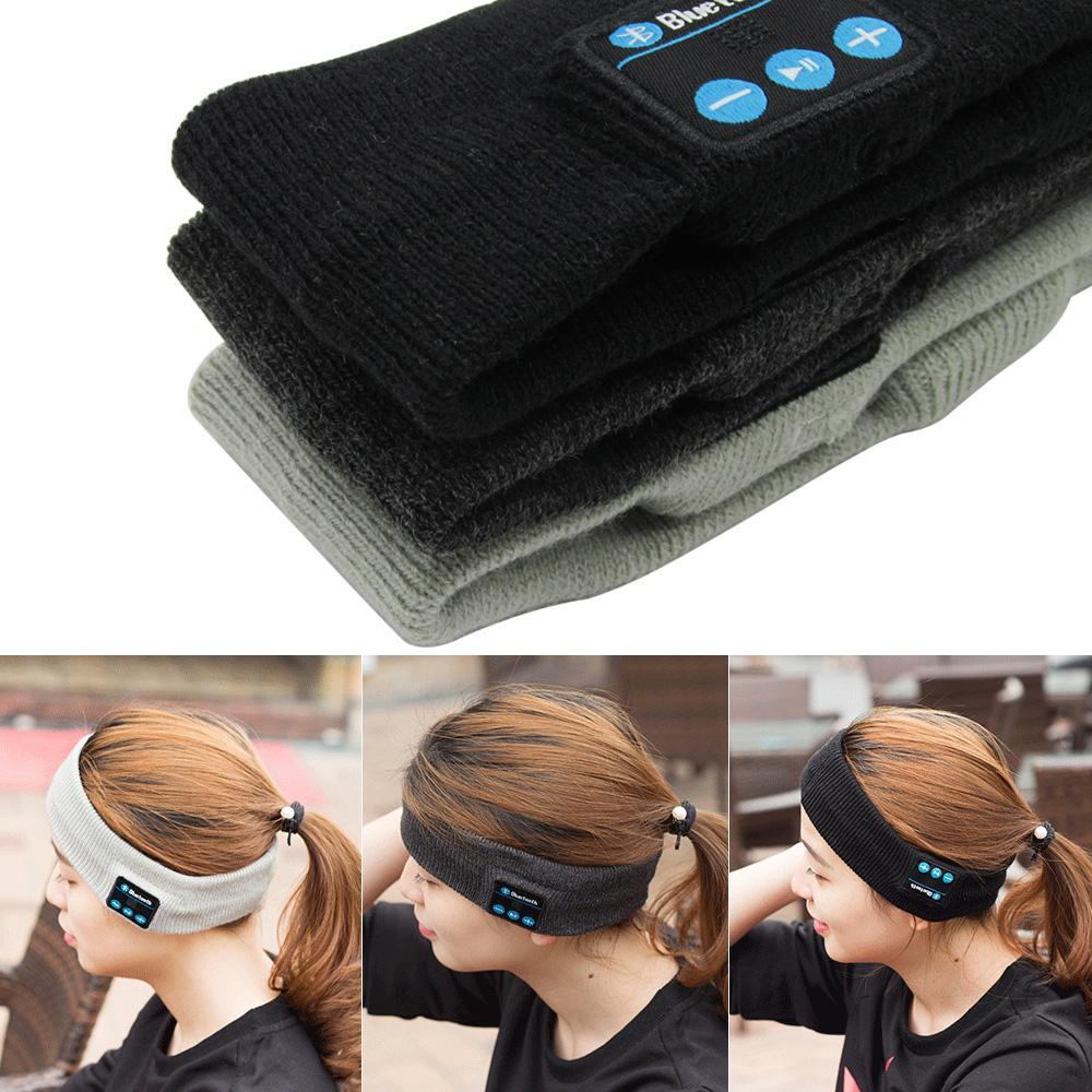 New Arrival Bluetooth Knitted Winter Hat headset Hands-free Call Music Mp3 Speakers Mic Cap Magic Sport Hats for xiaomi yi ipad - dianadu-designs