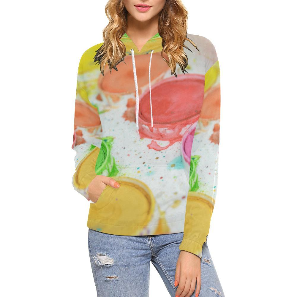 Paint by Number Women's Hoodie - dianadu-designs