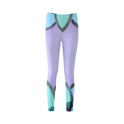 Pin Wheels High-Waist Leggings - dianadu-designs