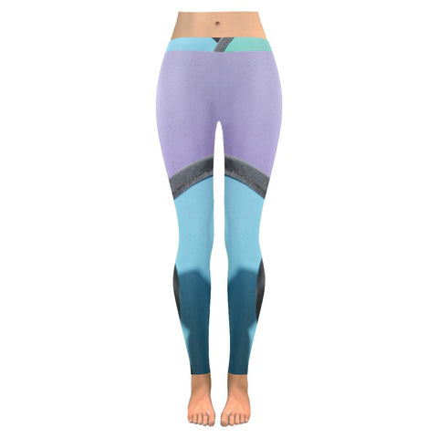 Pinwheels Low Rise Leggings - dianadu-designs
