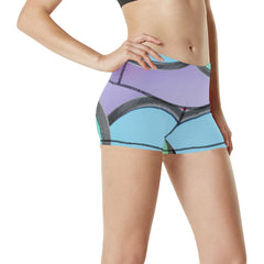 Pinwheels Women's Yoga Shorts