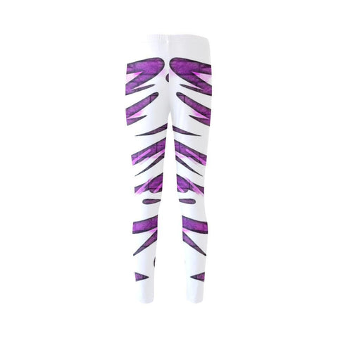 Purple Tornado High-Waist Leggings - dianadu-designs