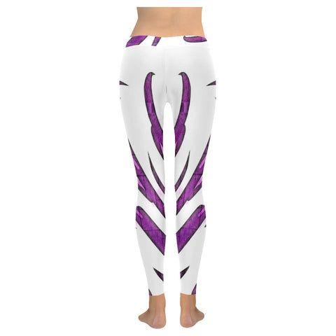 Purple Tornado Low Rise Leggings - dianadu-designs
