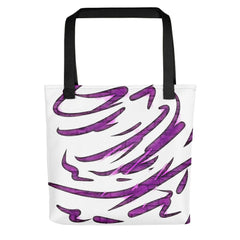 Purple Tornado Tote Bag - dianadu-designs