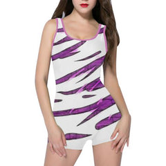 Purple Tornado Women's One Piece Romper - dianadu-designs
