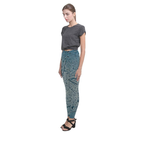 Rain Women's High-Waist Leggings - dianadu-designs