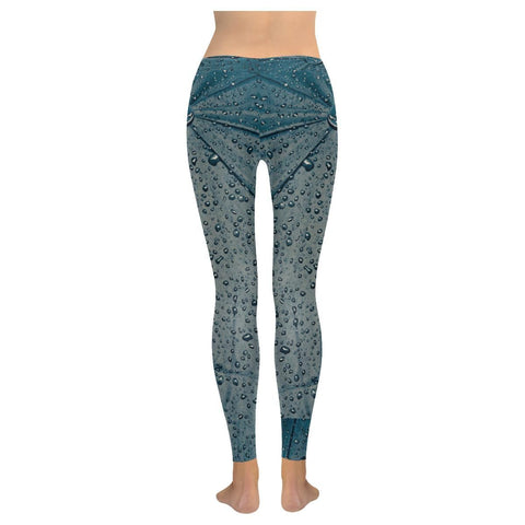 Rain Women's Low Rise Leggings - dianadu-designs