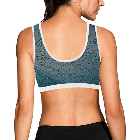 Rain Women's Sports Bra - dianadu-designs