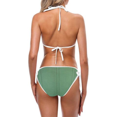 Simply Green Custom Bikini - dianadu-designs
