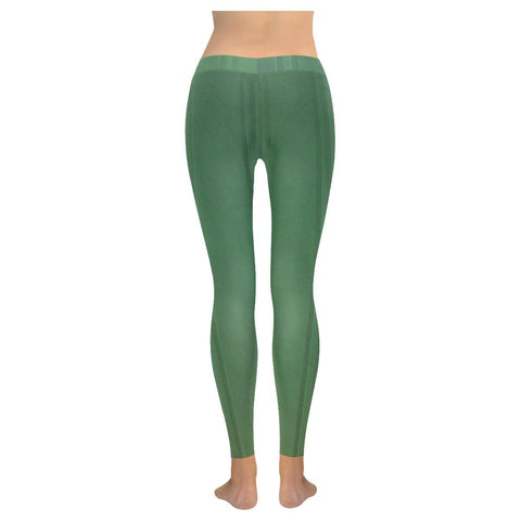 Simply Green Low Rise Leggings - dianadu-designs