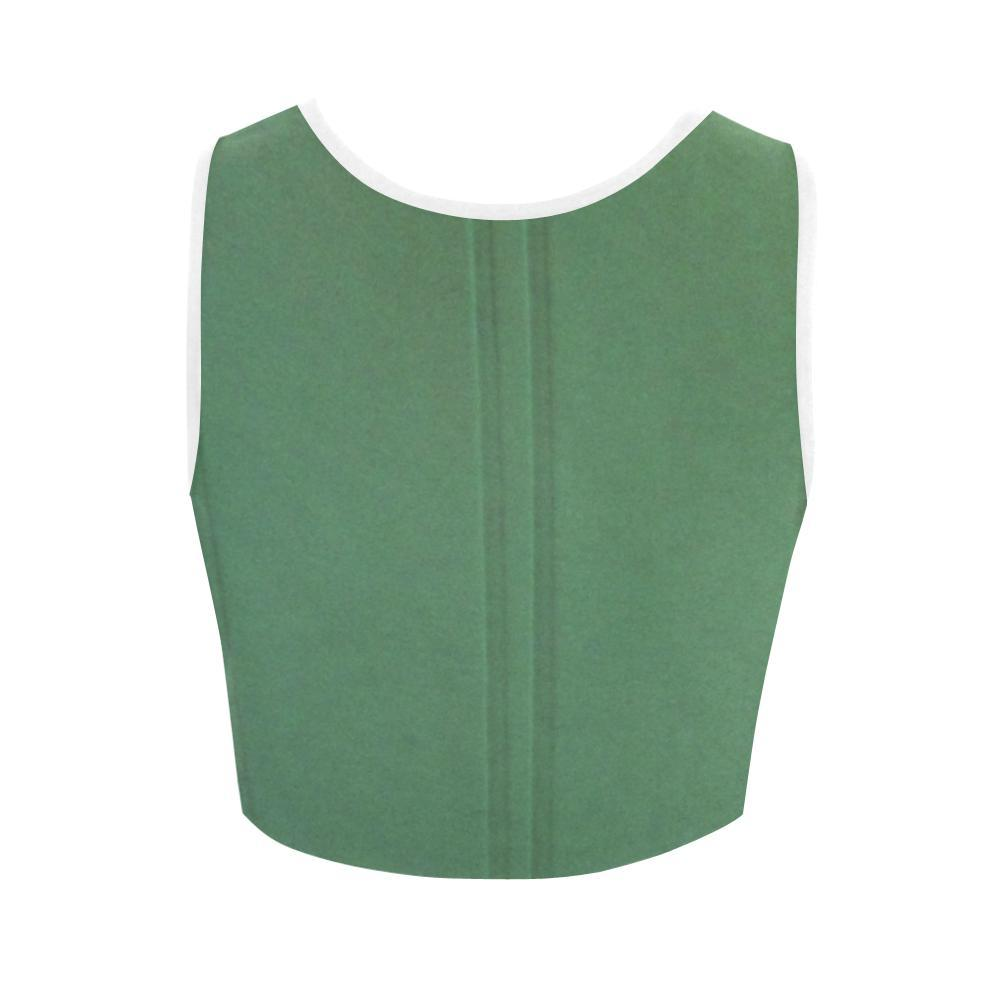 Simply Green Women's Fitted Crop Top - dianadu-designs