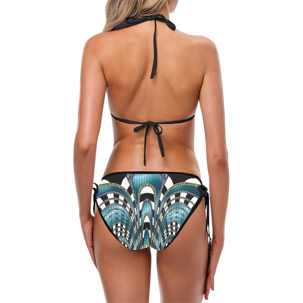Snake and Zebra Custom Bikini - dianadu-designs