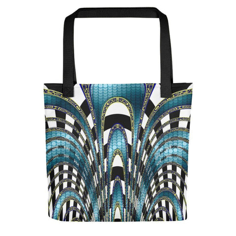 Snake and Zebra Tote Bag - dianadu-designs