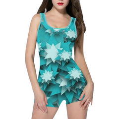 Star Candy Women's One Piece Romper - dianadu-designs