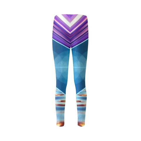 Tequila Sunrise High-Waist Leggings - dianadu-designs
