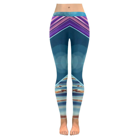 Tequila Sunrise Low Rise Leggings - dianadu-designs