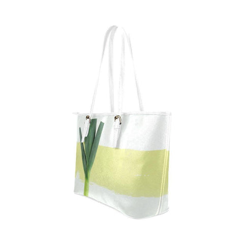 The Onion Leather Tote Bag - dianadu-designs