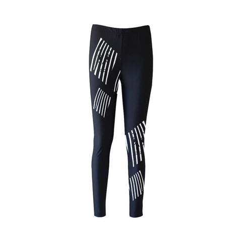 The Prisoner High-Waist Leggings - dianadu-designs