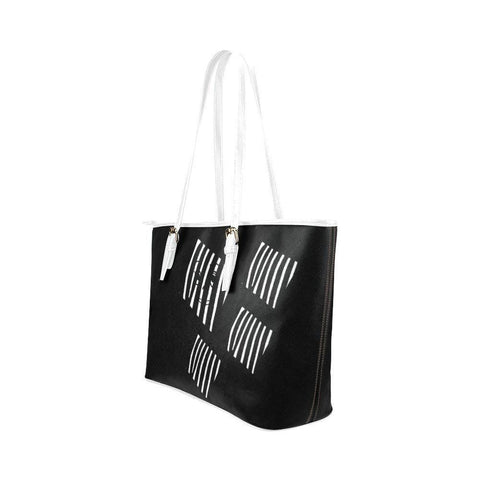 The Prisoner Leather Tote Bag - dianadu-designs