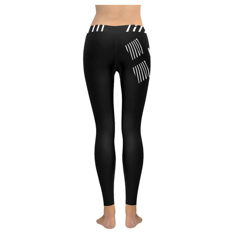 The Prisoner Low Rise Leggings - dianadu-designs