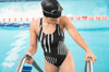Image of The Prisoner One-Piece Swimsuit - dianadu-designs