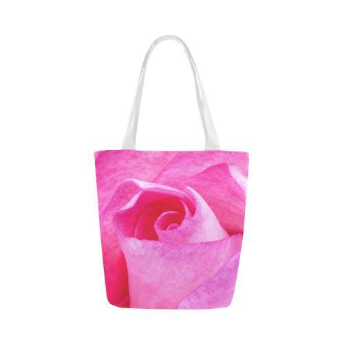 The Rose Canvas Tote Bag - dianadu-designs