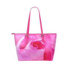 The Rose Leather Tote Bag