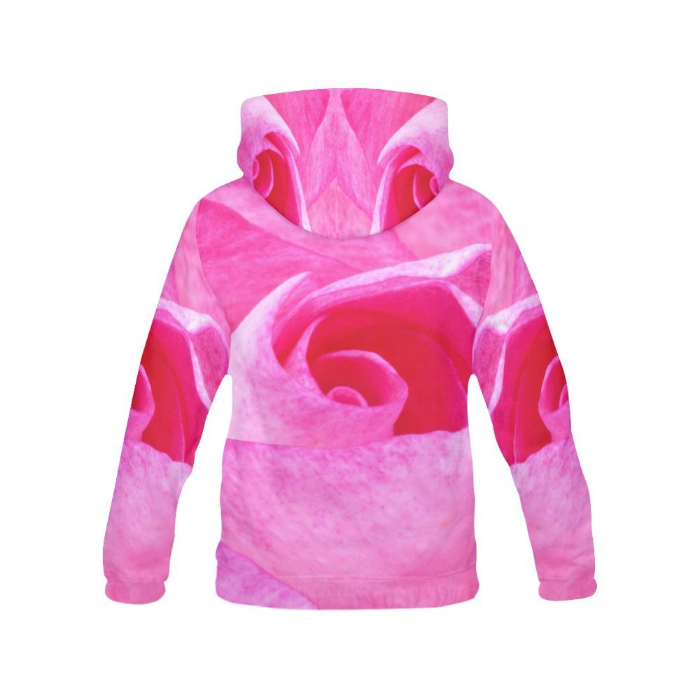 The Rose Women's Hoodie - dianadu-designs