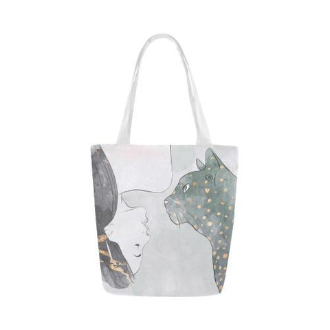 Trash Talk Canvas Tote Bag - dianadu-designs