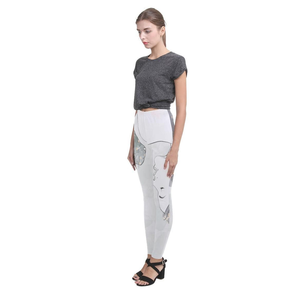 Trash Talk Women's High-Waist Leggings - dianadu-designs