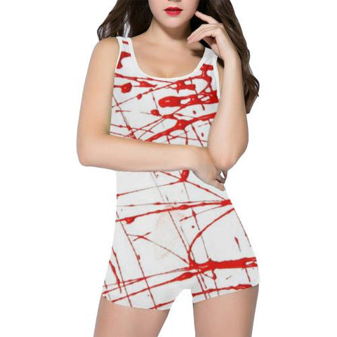 Urban Graffiti Women's One Piece Romper - dianadu-designs