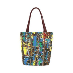 Urban Jungle Canvas Tote Bag