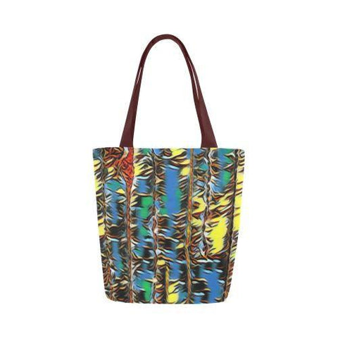 Urban Jungle Canvas Tote Bag - dianadu-designs