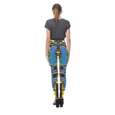 Urban Jungle Women's High-Waist Leggings - dianadu-designs