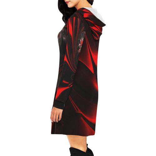 Velvet Underground Women's Hoodie Mini Dress - dianadu-designs
