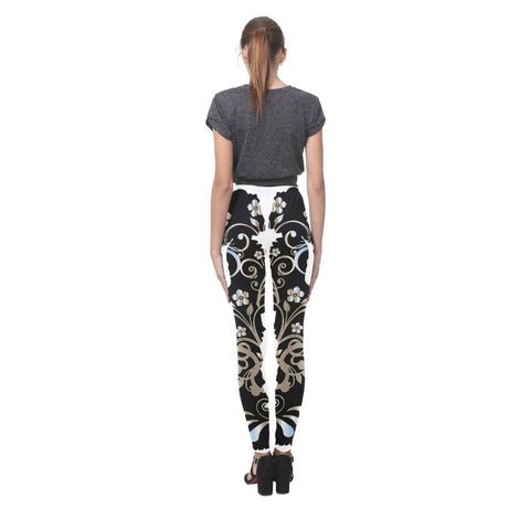 Victorian Lady Women's High-Waist Leggings - dianadu-designs