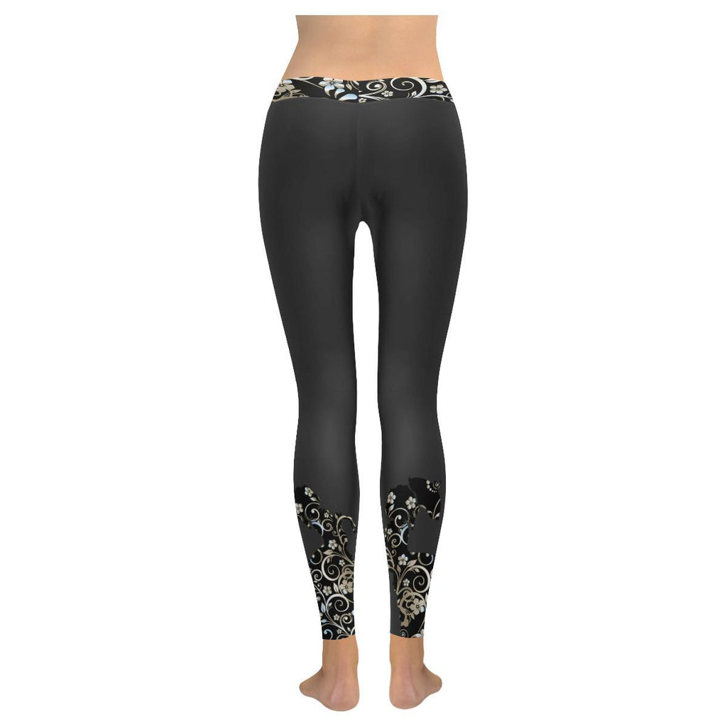 Victorian Lady Women's Low Rise Leggings - dianadu-designs