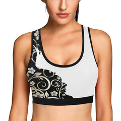 Victorian Lady Women's Sports Bra - dianadu-designs
