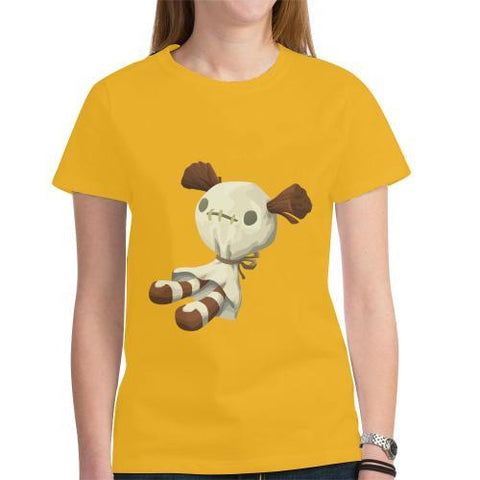 Voodoo Doll - Women's Short Sleeve T-Shirt - dianadu-designs