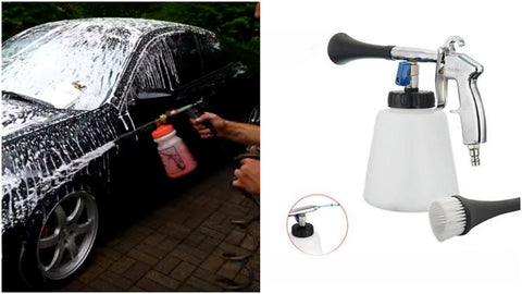 bike and car washing foam gun