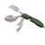 3-in-1 Stainless Steel Folding Spoon, Fork and Knife