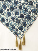 Off White Floral Scarf & Navy Floral Scarf (Set of 2)