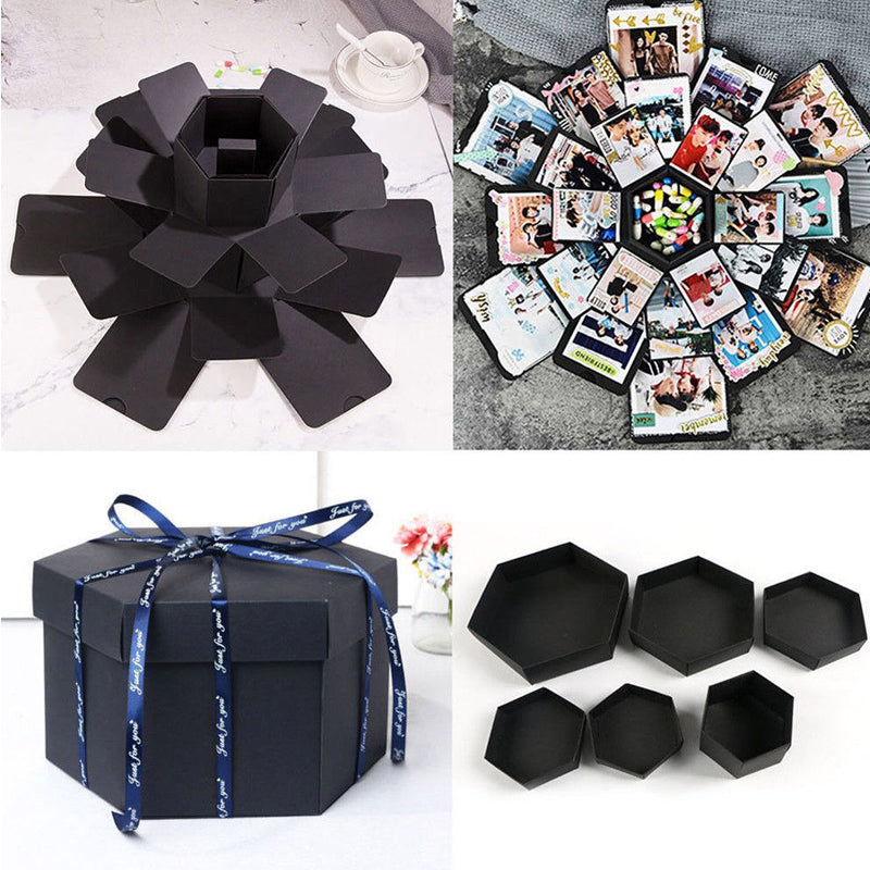 DIY Surprise Photo Explosion Album Box - TrendiaStore