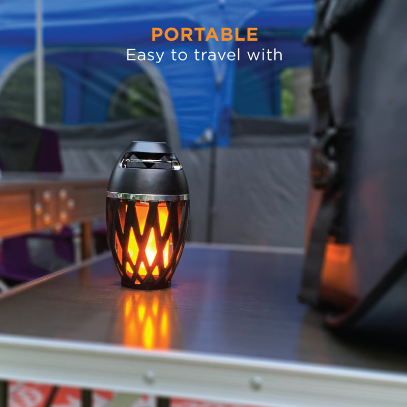 Wireless Bluetooth Warm LED Light Speaker - TrendiaStore