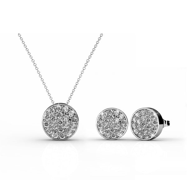 'Iris' Earrings + Necklace Set - TrendiaStore