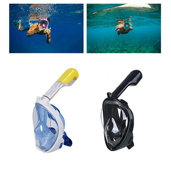 Full Face Anti Fog Snorkeling Mask - TrendiaStore